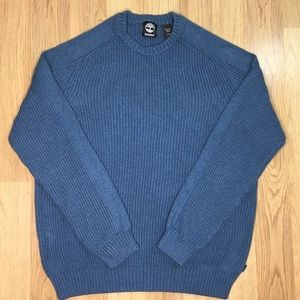 Heavy Timberland Blue Sweater Size L/G